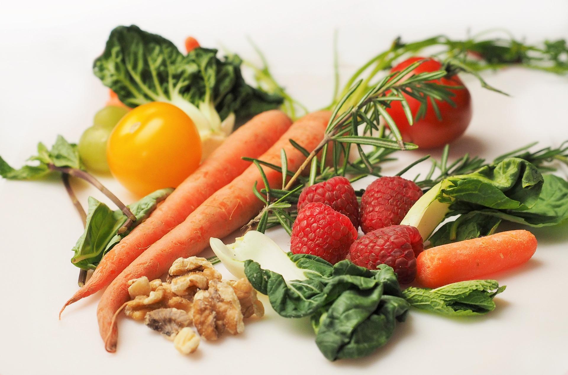 Ekologiczne warzywa i owoce